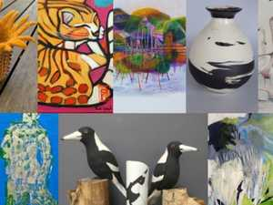 'Eclectic' offering of Cooroy art