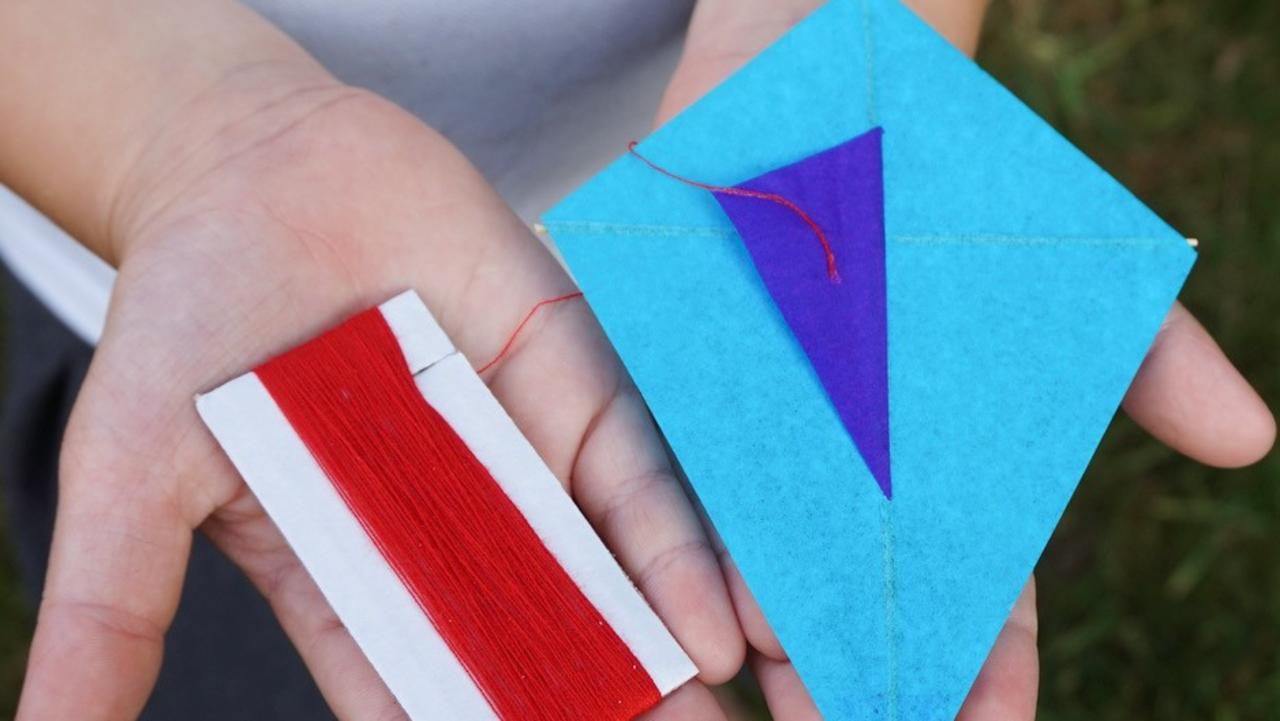 World's Smallest Kite designs, available at Caloundra Street Fair. Picture: Contributed