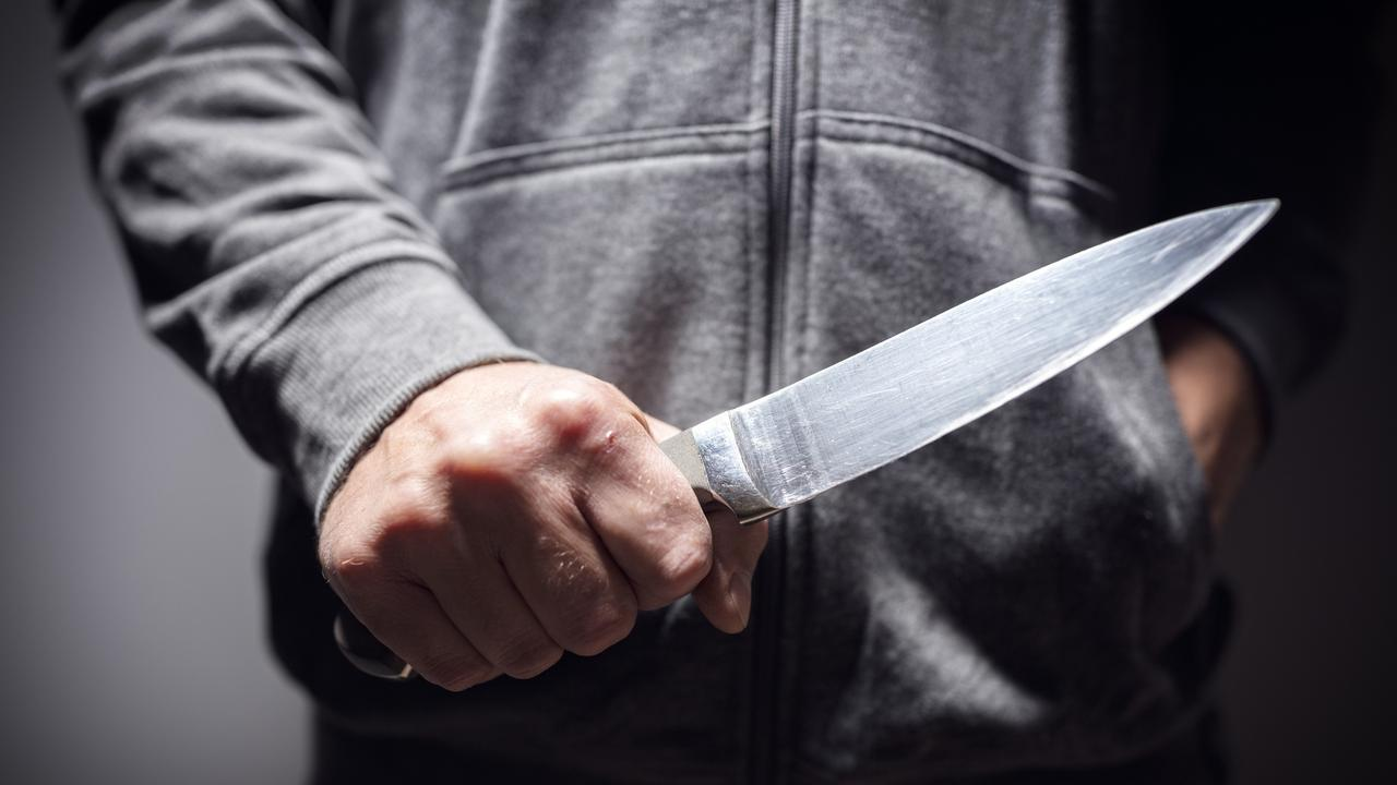 A man was stabbed in the chest five times after he and another man allegedly got into an argument over something truly bizarre.
