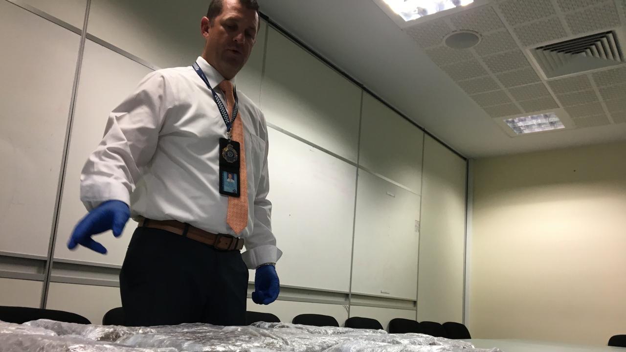 Rockhampton Police seize huge amount of drugs in RBT.