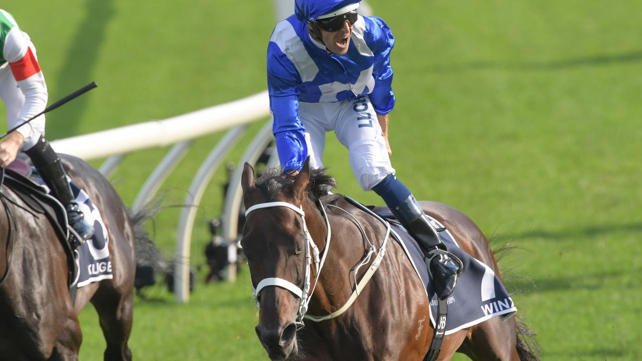 Waterhouse said Winx eclipsed Phar Lap as the best racehorse he'd ever seen. Picture: Simon Bullard