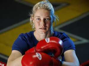 AFLW star Tayla Harris's world title ambitions taking shape