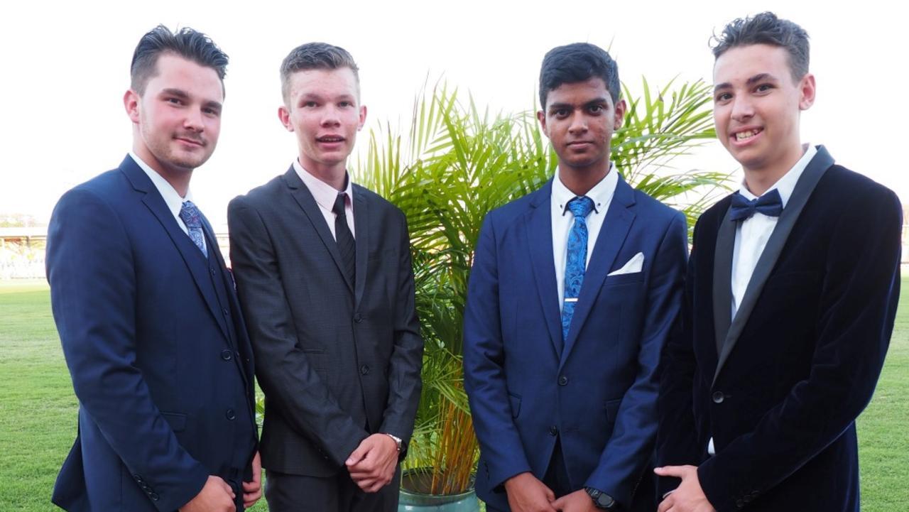 RSHS formal Joel, Daniel, Pranish & Anthony.
