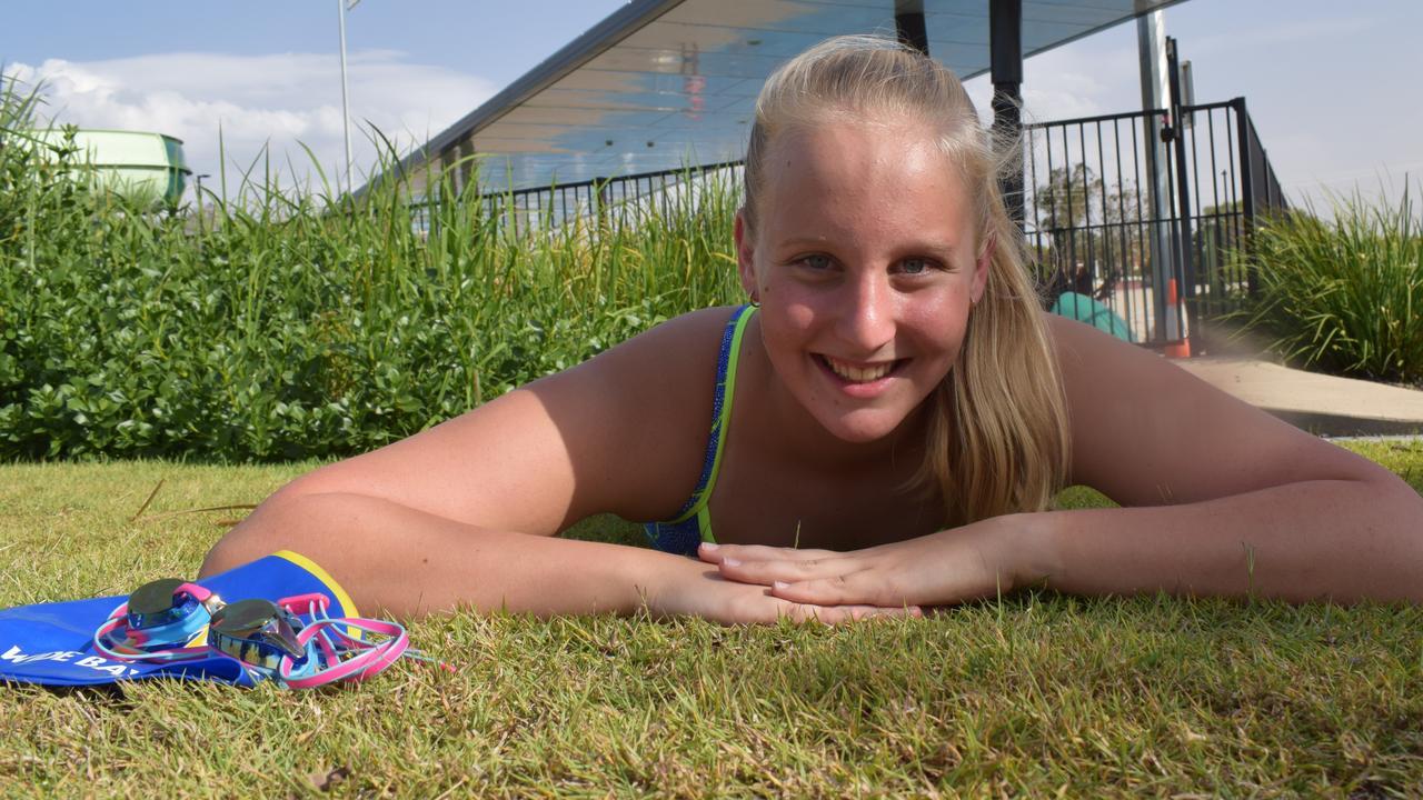Swimmer Esther Davies. Photo Bec Singh