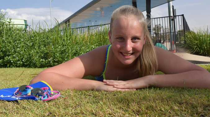 Gympie swimmer hopes to make splash in the pool towards state champs