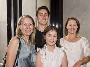 ( From left ) Melissa Dalziell, Aidan Coetzee, Kirra