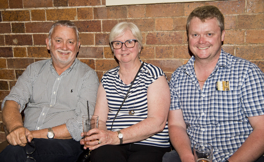 Image for sale: ( From left ) Lindsay Reid, Mischa Reid and Rob Reid. The Carnival Dream at The Armitage Centre, Empire Theatres. Picture: Nev Madsen. Thursday, 21st Nov, 2019