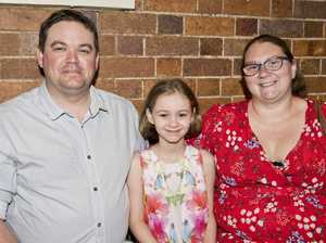 ( From left ) Stephen, Lilly and Sarah McEnery. The