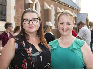 ( From left ) Niamh Gilberd and Naomi Andrews. The