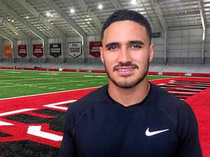 No regrets: Valentine Holmes on NFL stint
