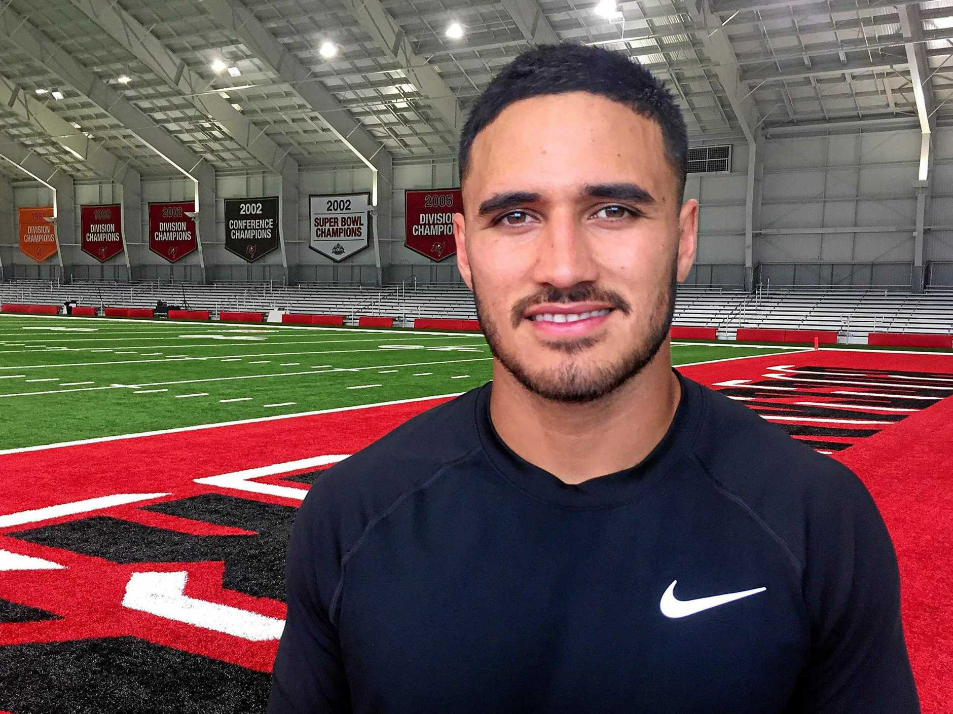 Valentine Holmes is heading back to Australia from the US. Picture: Peter Mitchell/AAP