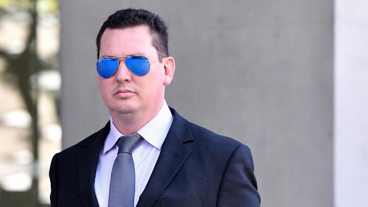 Ipswich lawyer Cameron McKenzie was involved in the extortion plot. Picture: Darren England