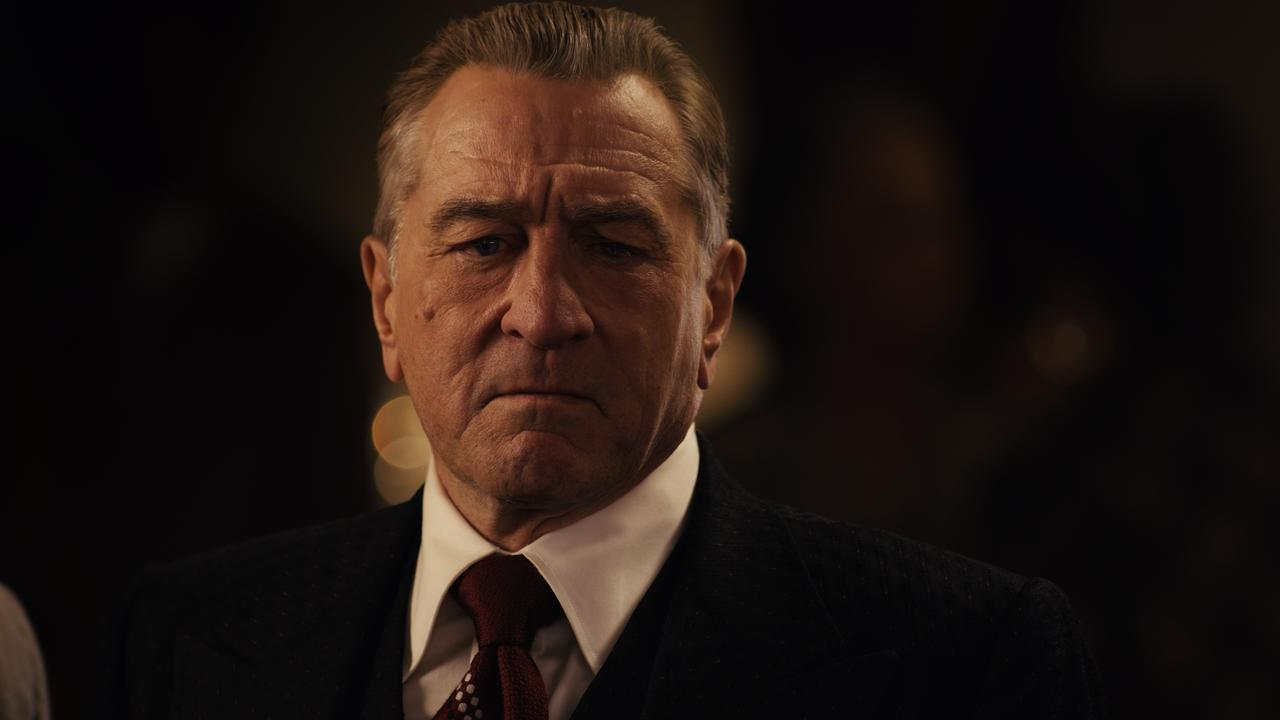 Frank Sheeran (Robert De Niro) has conflicting loyalties in The Irishman.