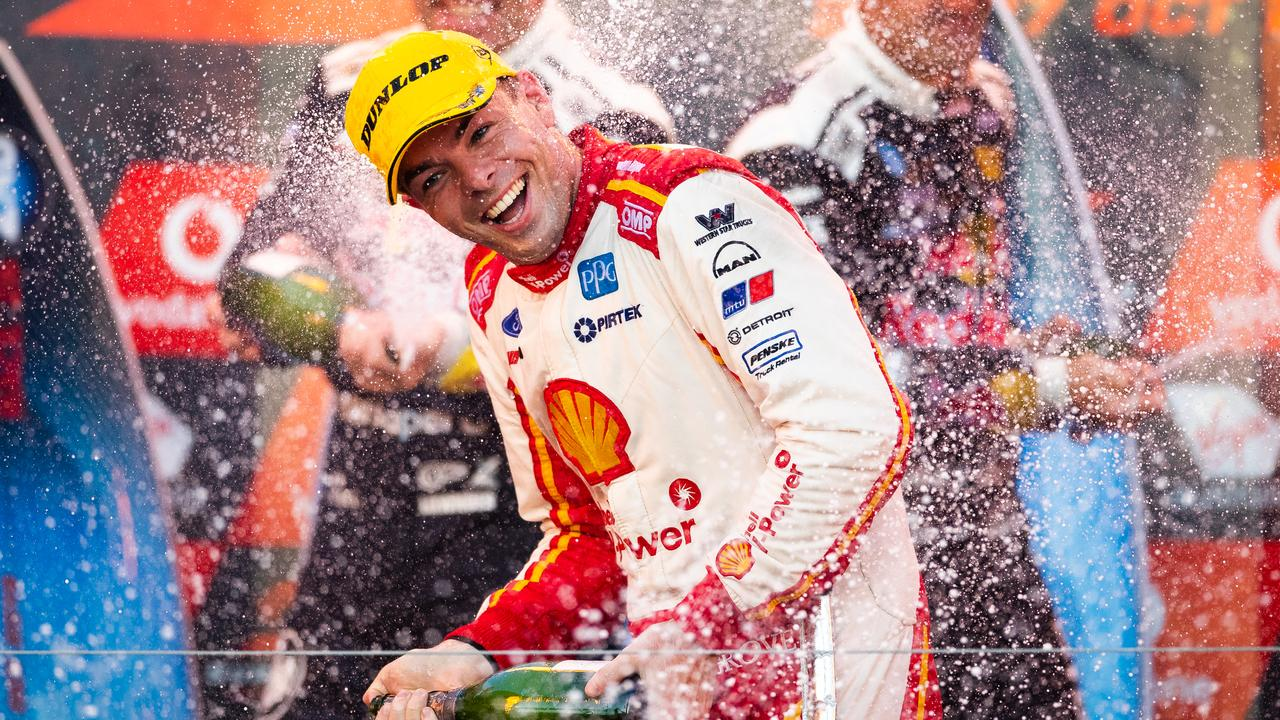 Scott McLaughlin is series champion again – but the noise has been deafening. Picture: Daniel Kalisz