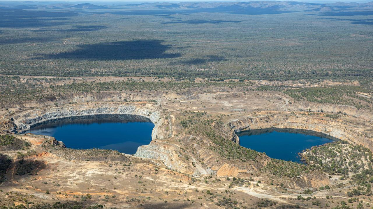The site of Genex Power's Kidston Pump Storage Hydro Project about 280km northwest of Townsville. Photo: Cameron Laird