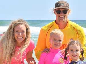 Superstar ironman helps create dream beach day