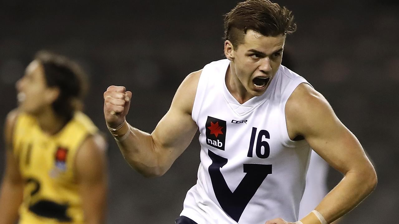 Brodie Kemp transitioned from a defender to a midfielder this year.