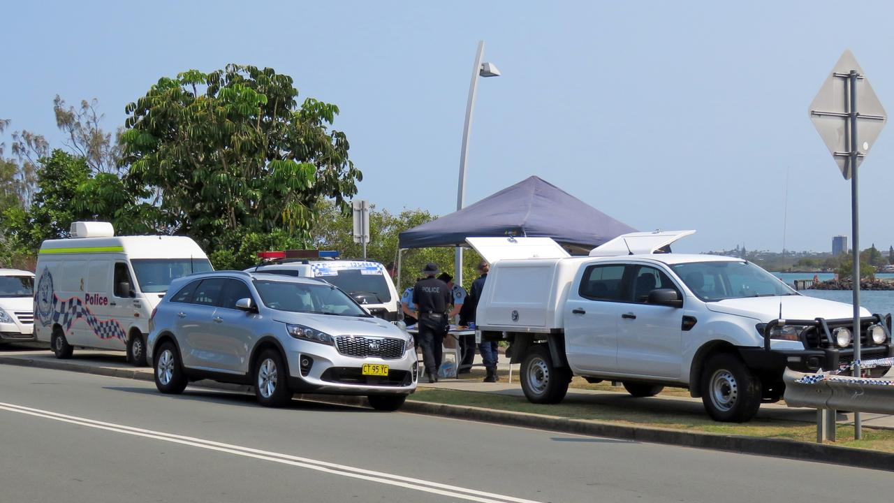The incident occurred in Jack Evans Boat Harbour. Picture: Jodie Calcott.