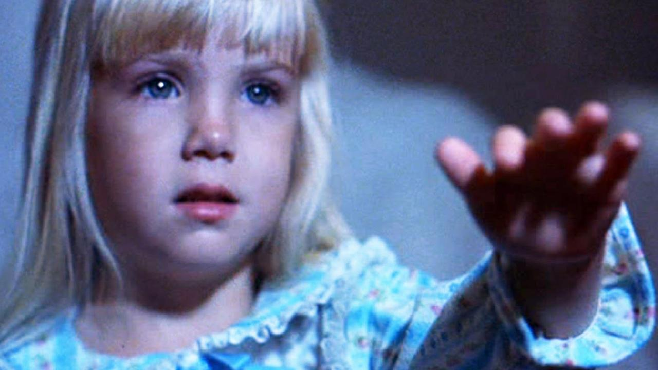 Heather O'Rourke rose to fame in the first film of the Poltergeist trilogy. Picture: Supplied.