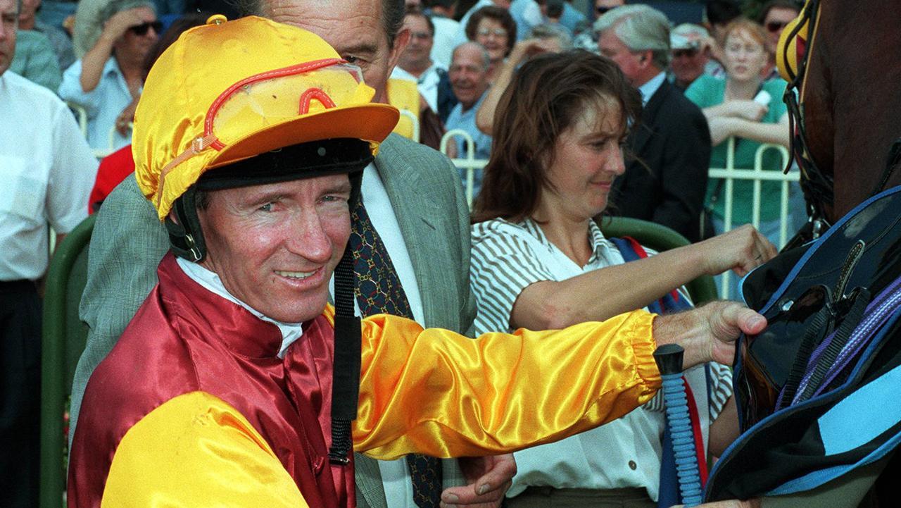 Mick Dittman at the Doomben races in 1997.