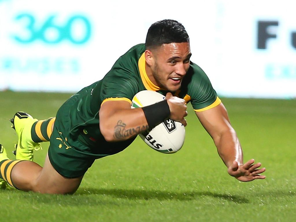 Valentine Holmes is a try scoring machine.