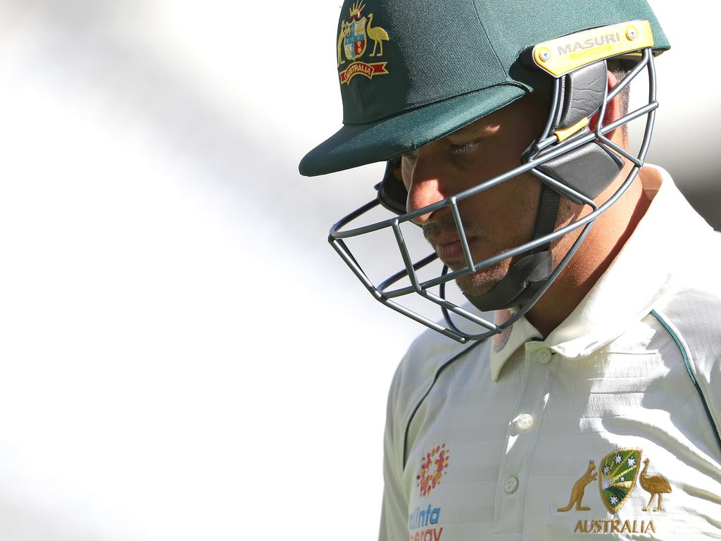 Usman Khawaja was left out of Australia's Test squad to face Pakistan, with Cameron Bancroft and Joe Burns getting the nod.