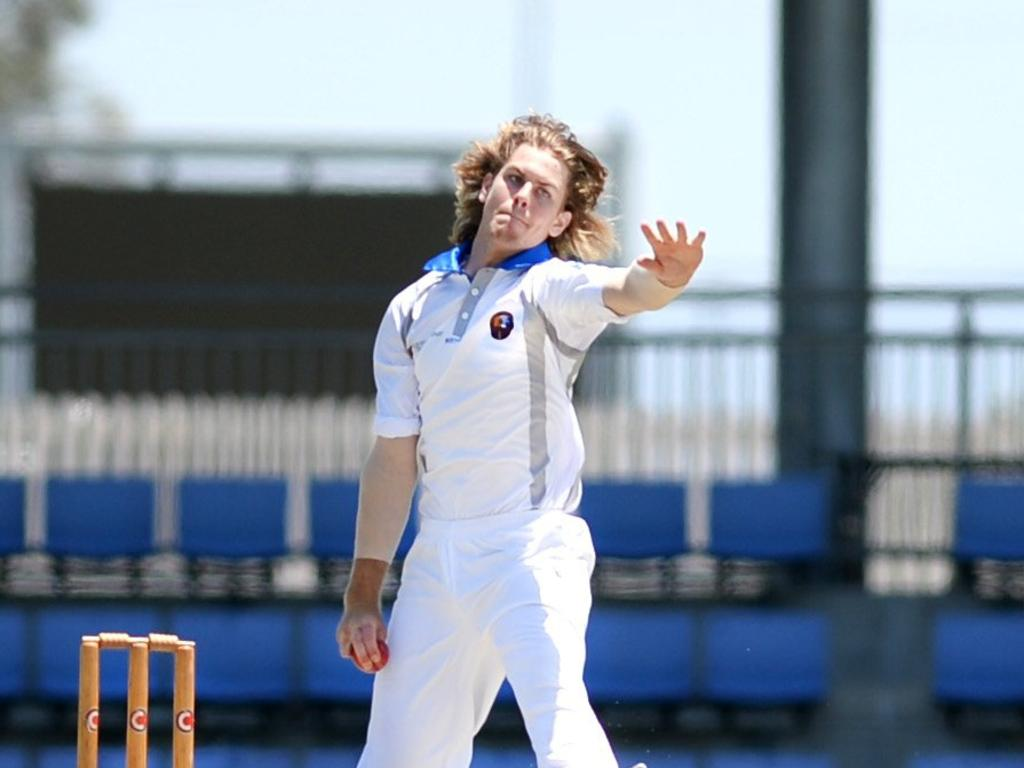 Mackay Whitsundays' Lane Kohler, pictured playing for Mackay Whitsundays last year, produced a quality final over to drag Norths to victory over Souths.