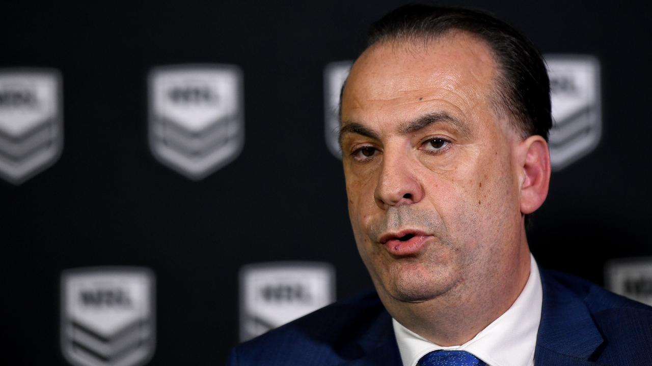 Australian Rugby League Commission Chairman Peter V'landys is keeping rule change details from the public.