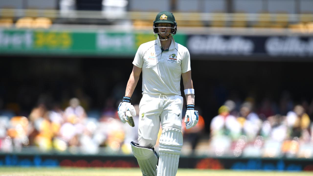 Human after all... Steve Smith was due a down game after his remarkable Ashes. Picture: AAP