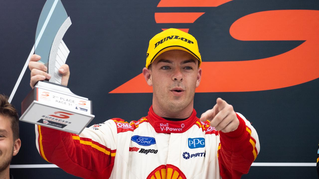 Scott McLaughlin won his second championship. Picture: Daniel Kalisz/Getty