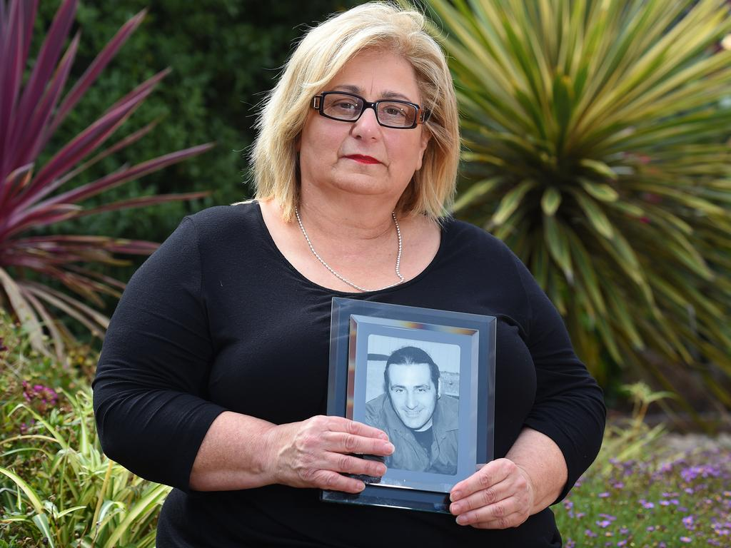 Adriana Buccianti lost her son Daniel in 2012 after a drug overdose at a festival. Picture: Josie Hayden