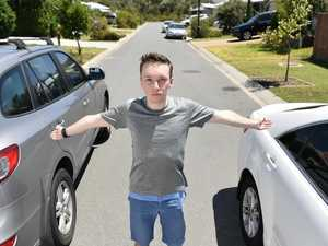 NARROW VIEW: Parking fine sparks student's push