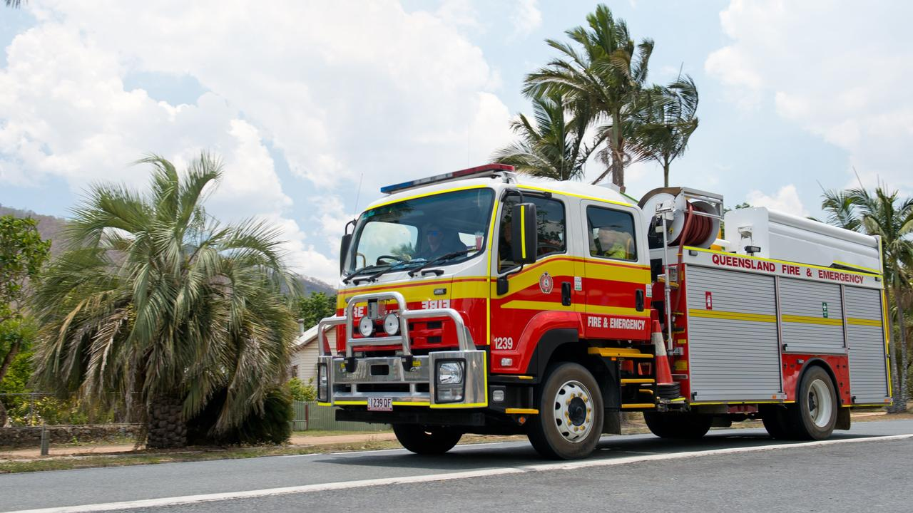 Emergency services crews responded to a report of smoke coming from a home in Thozet Road on Sunday afternoon.