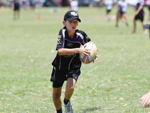 Rocky kids step up in junior touch grand final