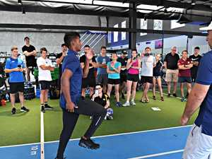 Runners, coaches put through paces at speed academy