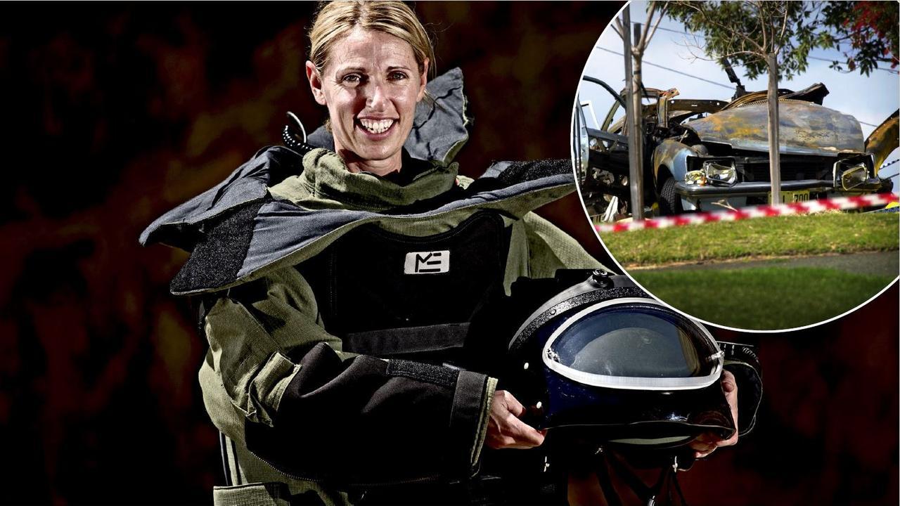 Bomb technician Jodie Pearson