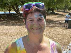 Runners in a frenzy over colour run