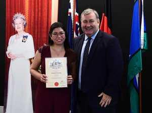 Welcoming Bundy's new Aussie citizens