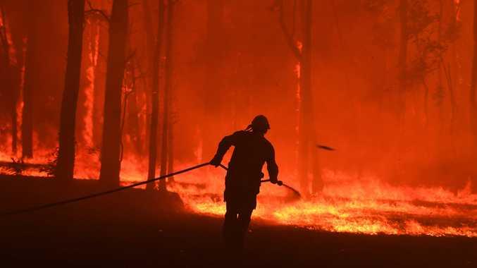 More than 100 homes razed by bushfires around the region