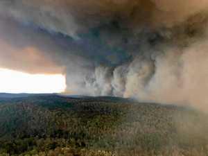 BUSHFIRE UPDATE: Fires merge to burn through large areas
