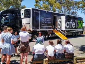 New safety truck hits road to educate young Australians