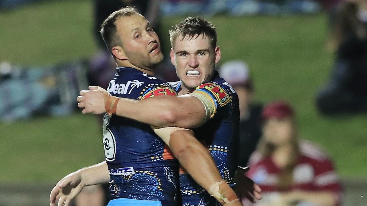 AJ Brimson has extended his contract with the Titans. Picture: Mark Evans