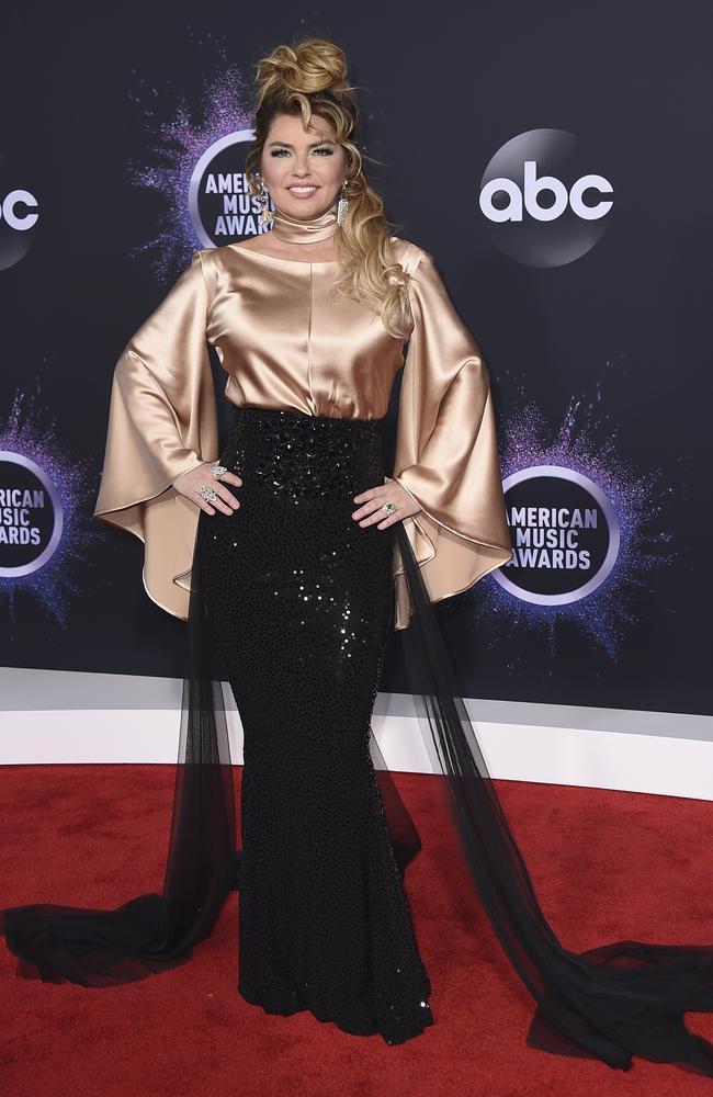 Shania Twain. Piccture: Jordan Strauss/Invision/AP