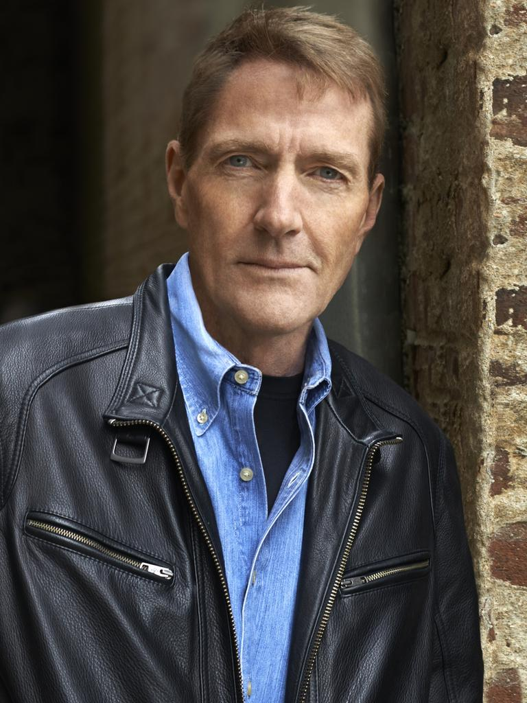 Jack Reacher author Lee Child.