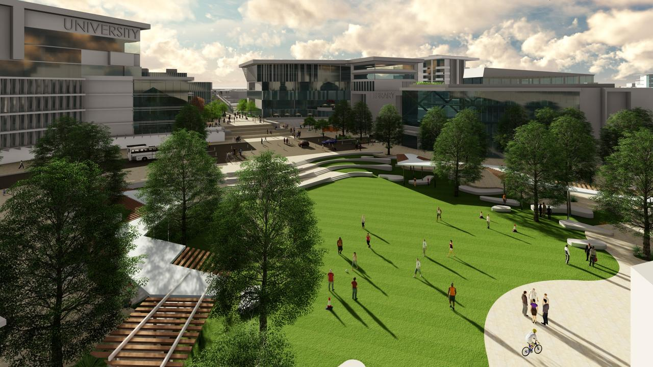 Mayor Sutherland said the new precinct would put education closer to areas north of Brisbane. Picture: File.