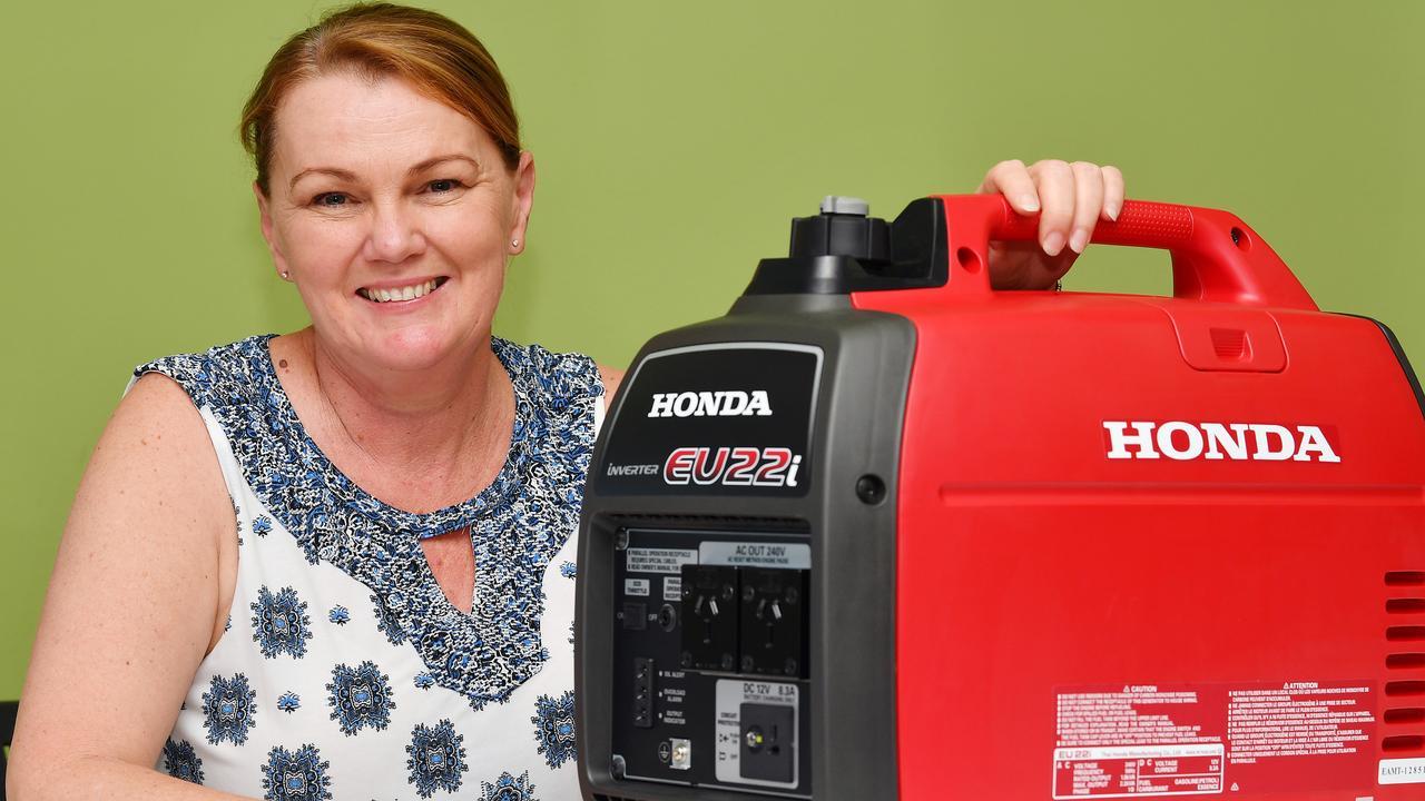 Winner: Kerrie Fitzsimon scored one of three generators in the giveaway.