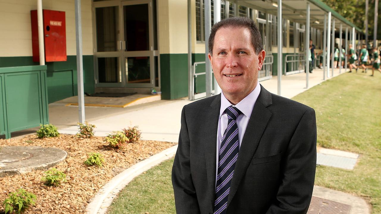 Queensland Secondary Principals Association Mark Breckenridge. Picture: Josh Woning