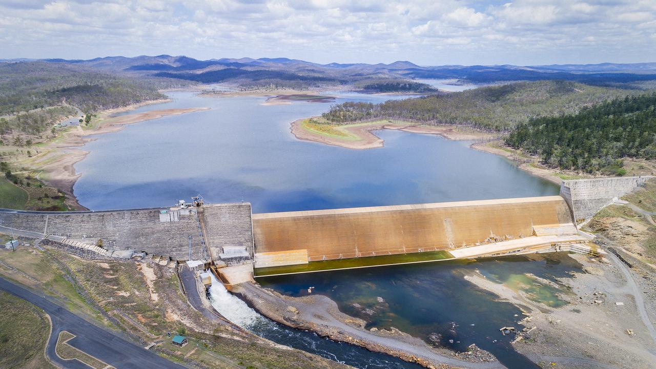 A view of Paradise Dam which was captured late last month. Picture: John Wilson