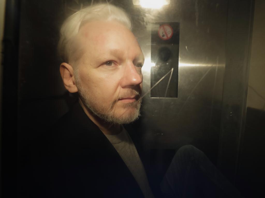 WikiLeaks founder Julian Assange. Picture: Matt Dunham