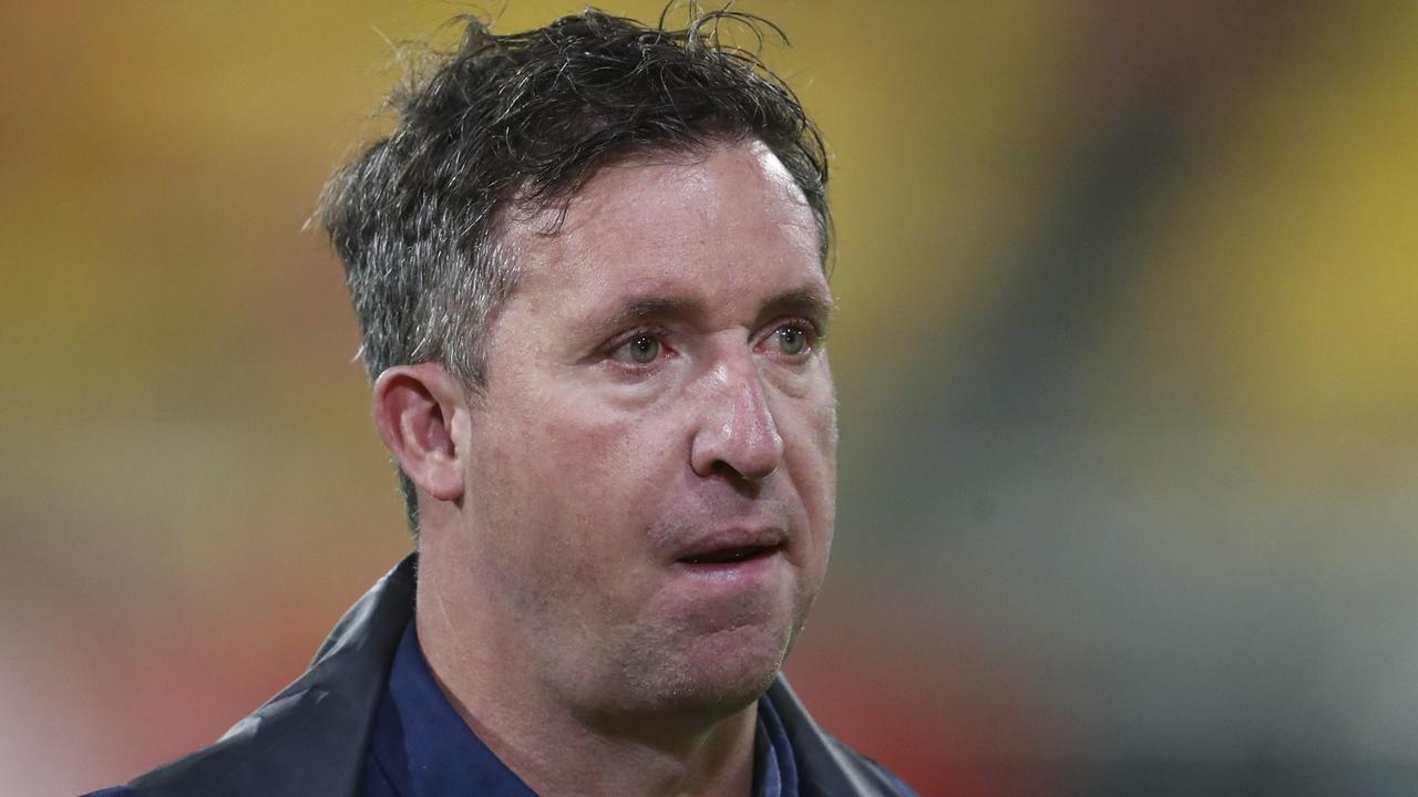 Robbie Fowler at a loss to explain Brisbane's poor starts. Picture: AAP Image/John Cowpland